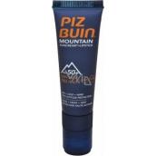 Piz Buin Mountain SPF50 sluneční krém 20 ml + SPF30 Lipstick tyčinka na rty 2,3 ml, duopack