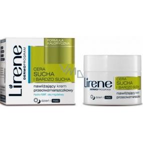 Lirene Dry And Very Dry Skin hydratační krém proti vráskám 50 ml