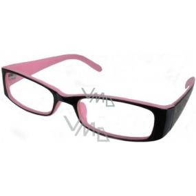 Berkeley Čtecí dioptrické brýle +3 růžovočerné CB02 1 kus