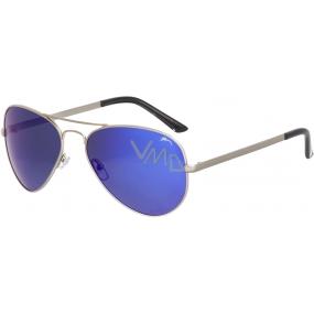 Relax Drago Sluneční brýle R2290D stříbrné