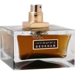 David Beckham Intimately toaletní voda Tester pro muže 75 ml