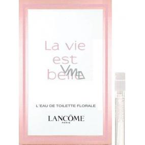 Lancome La Vie Est Belle L Eau de Toilette Florale toaletní voda pro ženy 1,5 ml s rozprašovačem, vialka