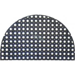 Spokar Rohožka venkovní gumová půlkruh 45 x 75cm 20mm