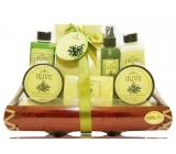 Raphael Rosalee Cosmetics OLIVA - 7 produktů dárkový košík