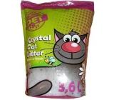 Silica Happy Cool Pet Meadow Fresh vysoce absorpční silikonové stelivo s vůní pro kočky 3,6 l