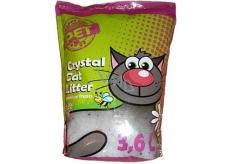 Silica Happy Cool Pet Meadow Fresh Stelivo vysoce absorpční ekologické silikonové s vůní pro kočky 3,6 l
