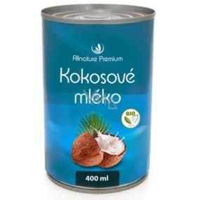 Allnature Premium Bio Kokosové mléko 400 ml