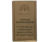 English Soap Indické Santalové dřevo Přírodní parfémované mýdlo s bambuckým máslem 200g