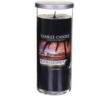 Yankee Candle Black Coconut - Černý kokos vonná svíčka Décor velký válec sklo 75 mm 566 g