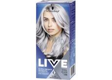Schwarzkopf Live Ultra Brights or Pastel barva na vlasy 098 Steel Silver 50 ml