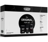 Str8 Original voda po holení pro muže 50 ml + deodorant sprej 150 ml + sprchový gel 250 ml, kosmetická sada