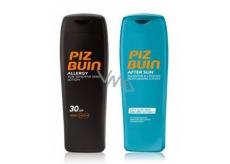 Piz Buin Allergy SPF30 mléko na opalování předchází vzniku sluneční alergie 200 ml + After Sun Tan Intensifyin hydratační mléko po opalování 200 ml