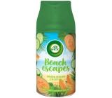 Air Wick Freshmatic Beach Escapes Aruba melounový koktejl automatický osvěžovač náhradní náplň 250 ml