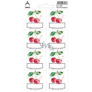 Arch Samolepky na zavařování Třešně/Višně Natural product 3435 8 etiket
