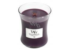 WoodWick Fig - Fík vonná svíčka s dřevěným knotem a víčkem sklo střední 275 g
