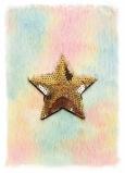 Albi Blok chlupatý Hvězda 16 cm x 22 cm