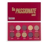 Makeup Obsession Be Passionate About paletka 10 očních stínů v kombinaci barev pro snadné stínování 13 g