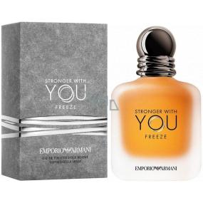 Giorgio Armani Emporio Stronger with You Freeze toaletní voda pro muže 100 ml