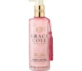 Grace Cole Warm Vanilla & Santalwood - Teplá vanilka a santalové dřevo čisticí tekuté mýdlo na ruce 300 ml