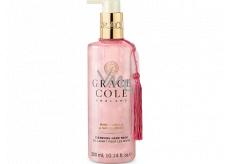 Grace Cole Warm Vanilla & Santalwood - Teplá vanilka a santalové dřevo čisticí tekuté mýdlo na ruce dávkovač 300 ml