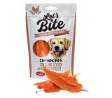 Brit Lets Bite Žvýkací tyčinky s kuřecími filety doplňkové krmivo pro psy 80 g