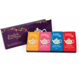 English Tea Shop Bio Fialové vánoce 60 kusů bioodbouratelných pyramidek čaje 90 g, dárková sada
