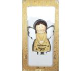 Epee Anděl strážný Anděl Christmas Angel na zavěšení 8 cm
