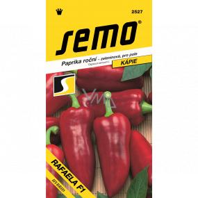 Semo Paprika roční zeleninová, pro pole Rafaela F1 hybrid 15 semen