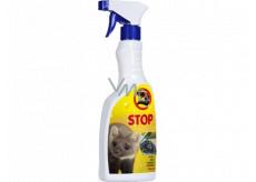 Bio-Enzym Stop Kuna přírodní odpuzovač kun pro použití v interiéru i v exteriéru rozprašovač 500 ml