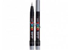 Posca Univerzální akrylový popisovač 8 mm Stříbrný PCF-350