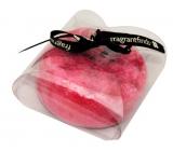 Fragrant Jubilation Glycerinové mýdlo masážní s houbou naplněnou vůní parfému Calvin Klein Euphoria for Woman v barvě červené 200 g