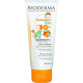 Bioderma Photoderm Kid Lait SPF50+ opalovací krém pro děti 100 ml