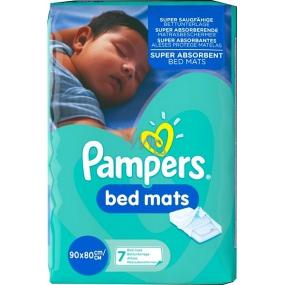 Pampers Bed Mats podložky na ochranu matrace 90 x 80 cm 7 kusů