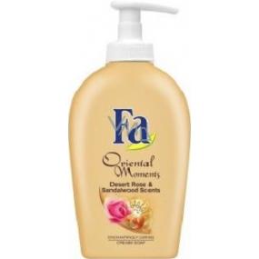 Fa Oriental Moments Desert Rose & Sandalwood Scents tekuté mýdlo s dávkovačem 300 ml