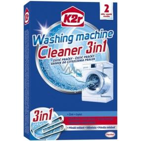 K2r Washing Machine Cleaner 3in1 čistič pračky 3v1 2 x 75 g