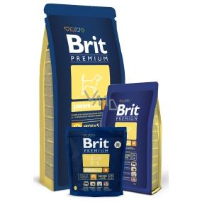 Brit Premium Junior M pro štěňata psy 2-12 měsíců středních plemen 10 -25 kg 3 kg Kompletní krmivo