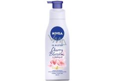 Nivea Cherry Blossom & Jojoba Oil tělové mléko s olejem dávkovač 200 ml