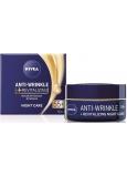 Nivea Anti-Wrinkle + Revitalizing 55+ Obnovující noční krém proti vráskám 50 ml
