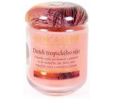 Heart & Home Dotek tropického ráje Sojová vonná svíčka velká hoří až 70 hodin 310 g