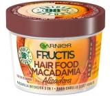 Garnier Fructis Macadamia Hair Food vyhlazující maska na suché a nepoddajné vlasy 390 ml