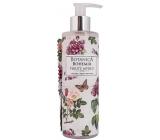 Bohemia Gifts Botanica Šípek a růže tekuté mýdlo dávkovač 250 ml
