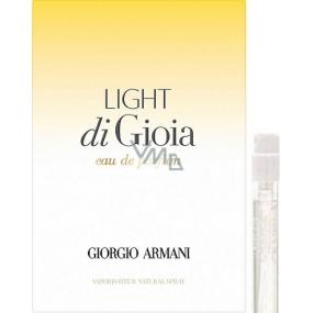 Giorgio Armani Light di Gioia parfémovaná voda pro ženy 1,2 ml s rozprašovačem, vialka
