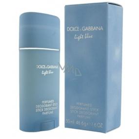 Dolce & Gabbana Light Blue deodorant stick pro ženy 50 ml