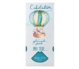 Bohemia Gifts Mléčná čokoláda splněných přání Pro kluka - Pro tebe 100 g