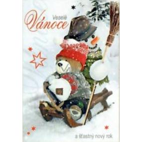 Nekupto Přání k Vánocům Veselé Vánoce a Šťastný nový rok 3149 R