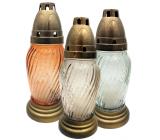 Admit Lampa skleněná 20 cm 30 g LA T 33 různé barvy