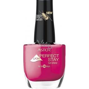 Astor Perfect Stay Gel Shine 3v1 lak na nehty 214 Seductive Fuchsia 12 ml