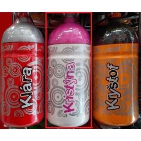 Nekupto Láhev pro zdravé pití s názvem Kristýna 0,5 l 1 kus