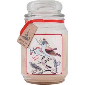 Bohemia Gifts & Cosmetics Veselé Vánoce dárková vonná svíčka ve skle doba hoření 105-120 hodin 510 g