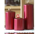 Lima Metal Serie svíčka červená válec 80 x 100 mm 1 kus